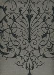 Regency SketchTwenty3 Wallpaper Filigree Charcoal PV00206 By Tim Wilman For Blendworthn